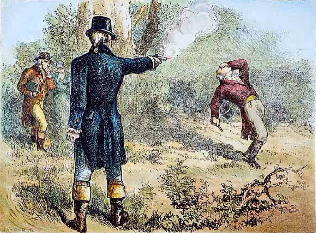 duel between hamilton and burr