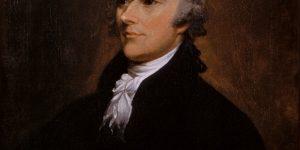 Portrait of Alexander Hamilton, painting by John Trumbull