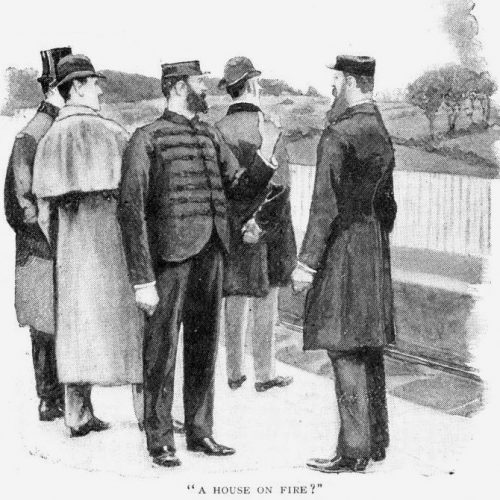 Sherlock Holmes The Engineer's Thumb A house on fire? asked Bradstreet as the train steamed off again on its way