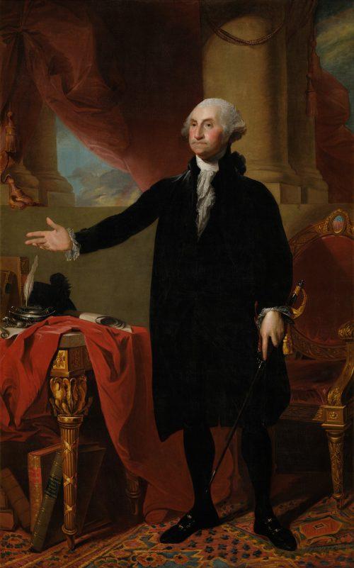 George Washington, painting by Gilbert Stuart