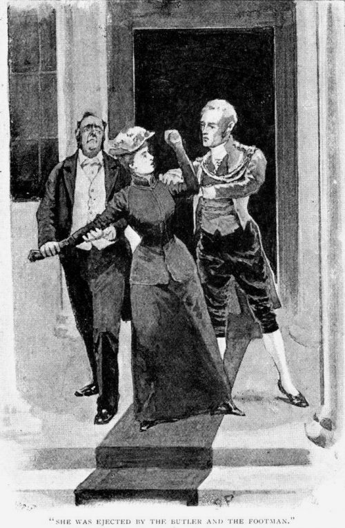 Sherlock Holmes The Noble Bachelor she was ejected by the butler and the footman