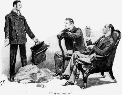 Sherlock Holmes The Noble Bachelor There, said he, putting a new wedding-ring upon the top of the pile