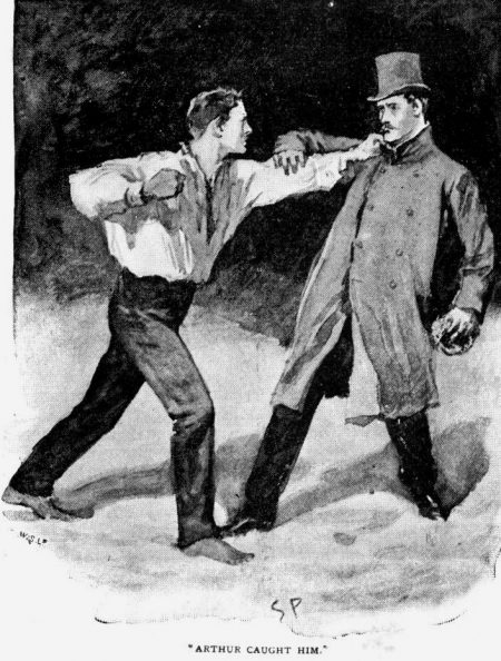 Sherlock Holmes The Beryl Coronet Sir George Burnwell tried to get away, but Arthur caught him