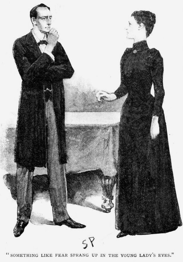 Sherlock Holmes The Beryl Coronet Something like fear sprang up in the young lady's expressive black eyes