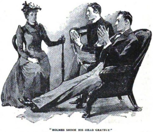 Sherlock Holmes The Copper Beeches Holmes shook his head gravely