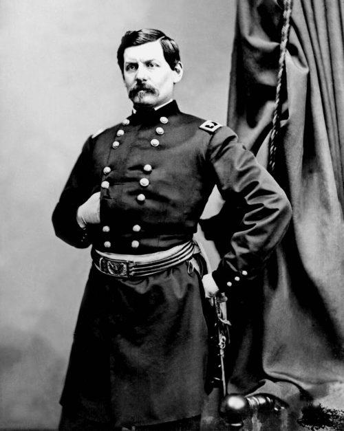 General George B. McClellan Daguerreotype by Mathew Brady