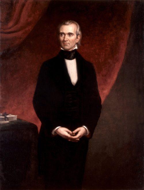 James Knox Polk Painting by George Peter Alexander Healy