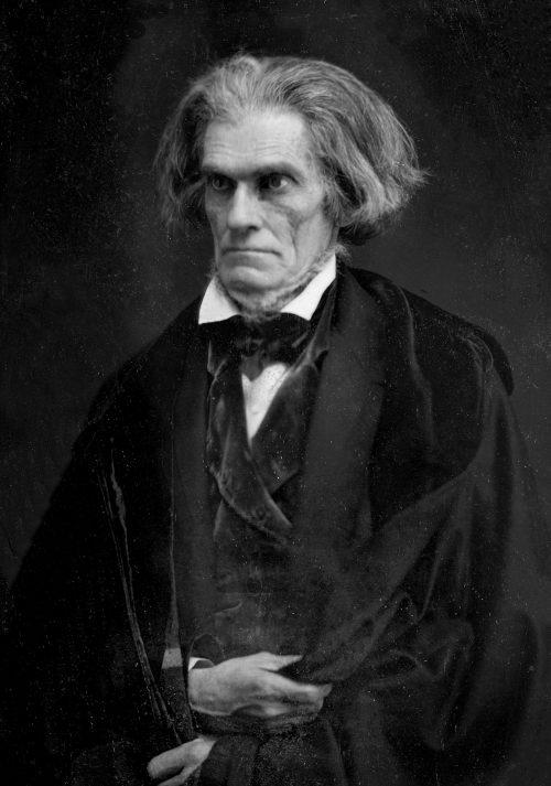 John C. Calhoun Daguerreotype by Mathew Brady