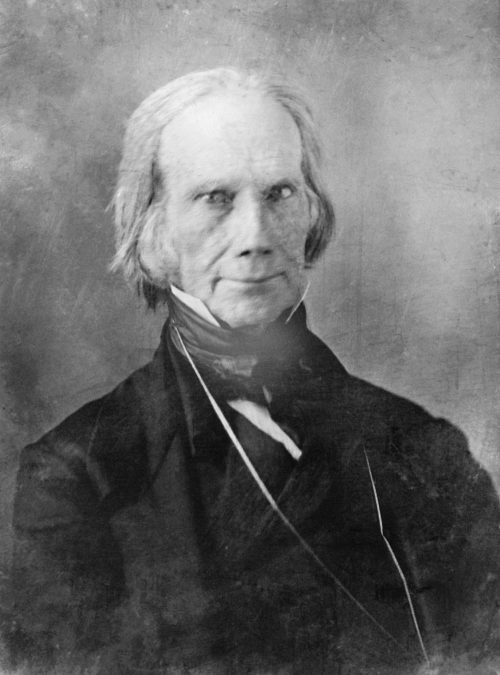 Henry Clay Restored Photograph