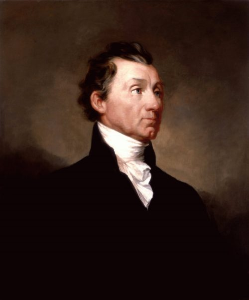Portrait of James Monroe by Samuel Morse