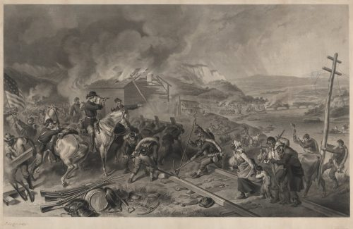 Sherman's March to the Sea After the painting by F.O.C. Darley
