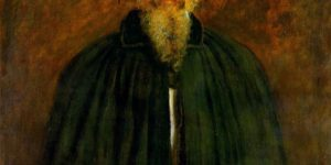 Lord Alfred Tennyson Painting by John Everett Millais
