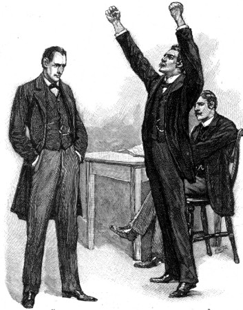 Sherlock Holmes The Stock-Broker's Clerk Hall Pycroft shook his clenched hands in the air