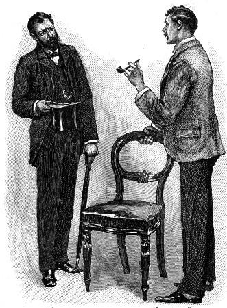 Sherlock Holmes The Stock-Broker's Clerk Mr. Hall Pycroft, I believe? said he