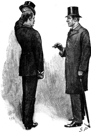 Sherlock Holmes The Stock-Broker's Clerk up came a man and addressed me