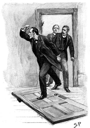 Sherlock Holmes The Stock-Broker's Clerk we found ourselves in the inner room