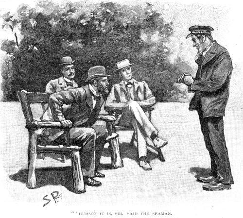 Sherlock Holmes The Gloria Scott Hudson it is, sir, said the seaman