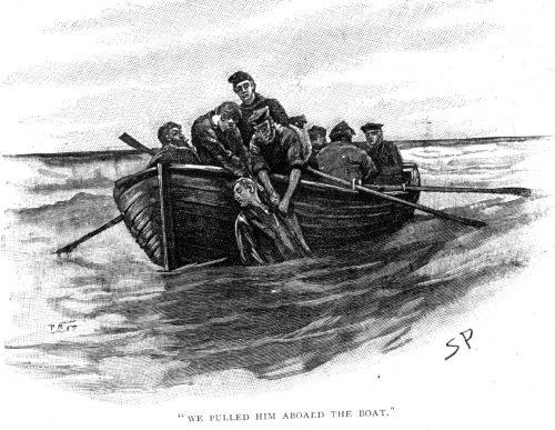 Sherlock Holmes The Gloria Scott we pulled him aboard the boat