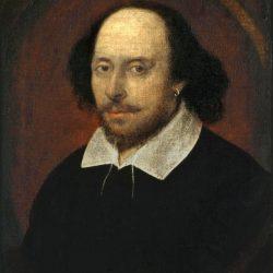 William Shakespeare Chandos Portrait by John Taylor