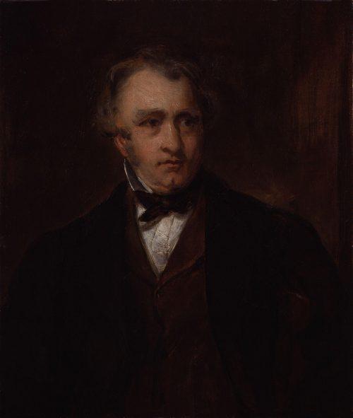 Thomas Babington Macaulay, Baron Macaulay, Painting by Sir Francis Grant