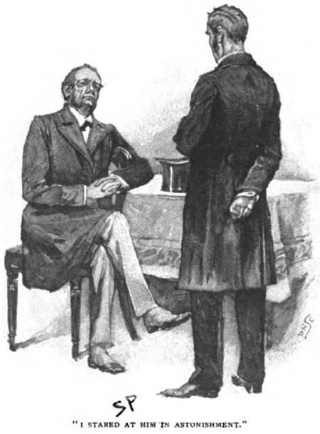 Sherlock Holmes The Resident Patient I stared at him in astonishment