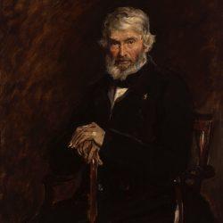 Thomas Carlyle Painting by Sir John Everett Millais