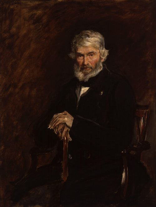 Thomas Carlyle Painting by Sir John Everett Millais