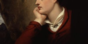 Lord Byron Painting by Richard Westall