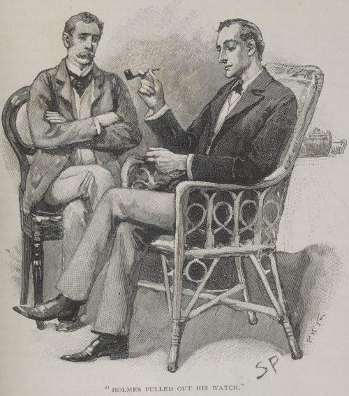 Sherlock Holmes The Greek Interpreter Sherlock Holmes pulled out his watch