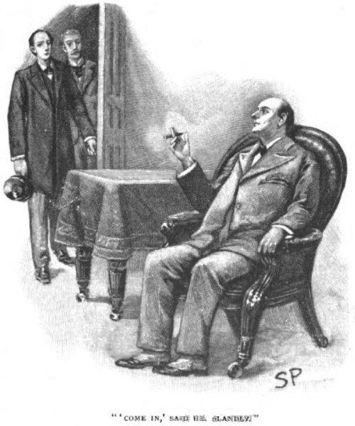 Sherlock Holmes The Greek Interpreter Come in, sir, said he blandly