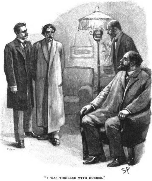 Sherlock Holmes The Greek Interpreter I was thrilled with horror