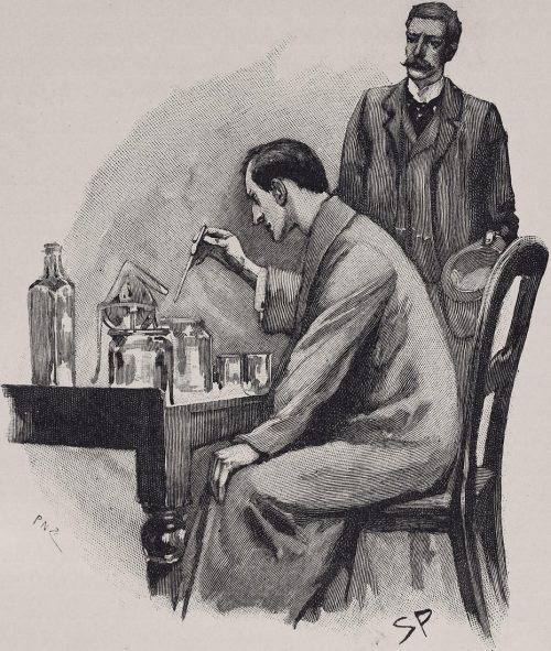 Sherlock Holmes The Naval Treaty Holmes was working hard over a chemical investigation