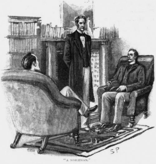 Sherlock Holmes The Naval Treaty a nobleman who is in truth noble