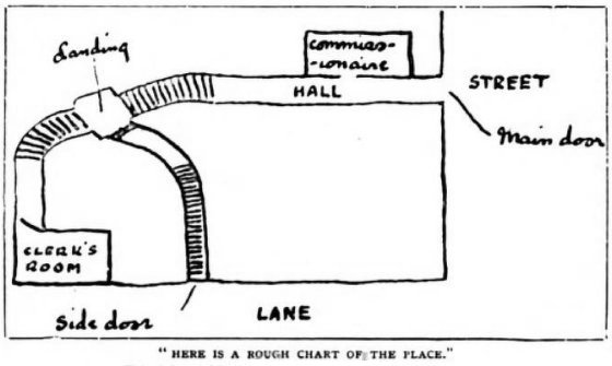Sherlock Holmes The Naval Treaty Here is a rough chart of the place