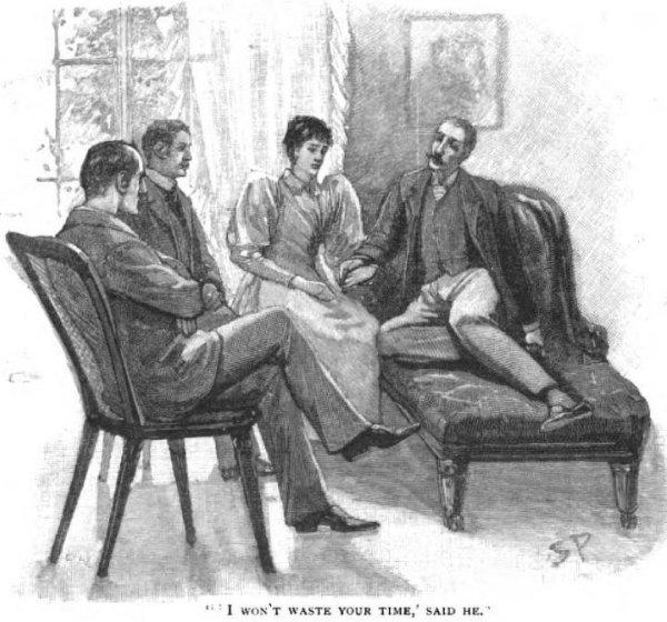 Sherlock Holmes The Naval Treaty I won't waste your time, said he