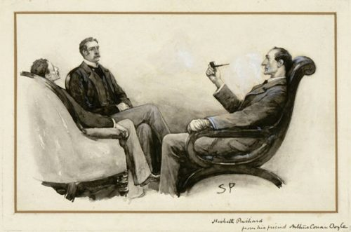 Sherlock Holmes The Naval Treaty Is there any other point which I can make clear?