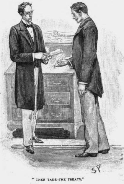 Sherlock Holmes The Naval Treaty Then take the treaty