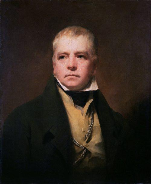Sir Walter Scott Painting by Henry Raeburn