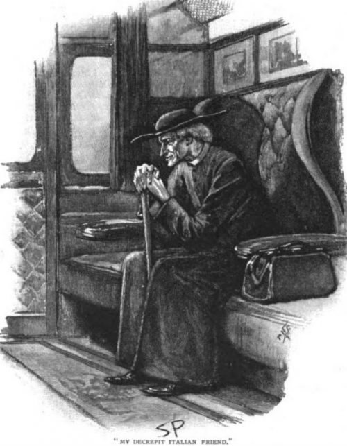 Sherlock Holmes The Final Problem my decrepit Italian friend as a traveling companion