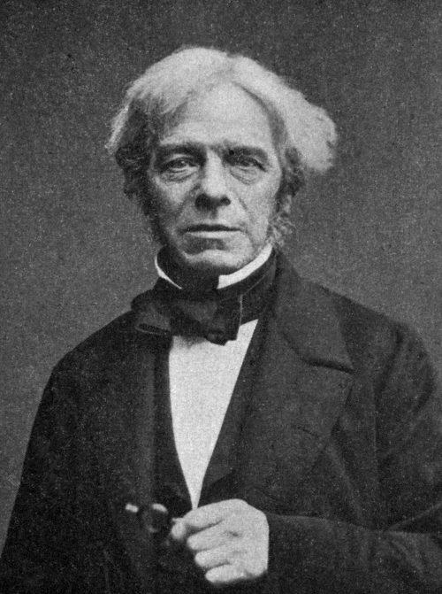 Michael Faraday Photograph