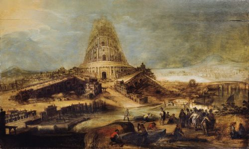 The Tower of Babel Painting by Hendrick van Cleve III