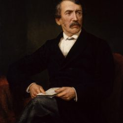 David Livingstone Painting by Frederick Havill