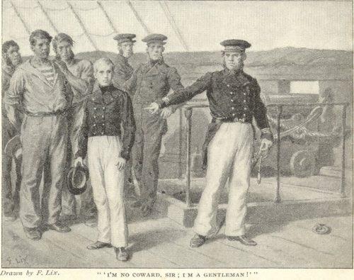The Red Stockade - I'm no coward, sir, I'm a gentleman!