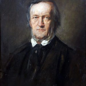 Richard Wagner Painting by Franz von Lenbach