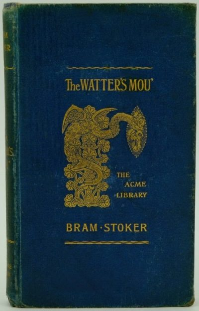 The Watter's Mou' Book Cover by Bram Stoker