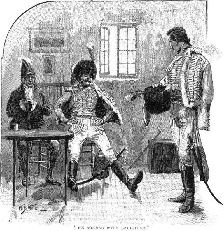 How The Brigadier Slew The Brothers Of Ajaccio He roared with laughter