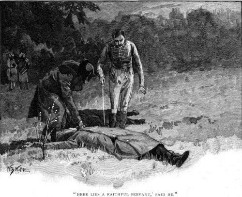 How The Brigadier Slew The Brothers Of Ajaccio Here lies a faithful servant who has given up his life for his master