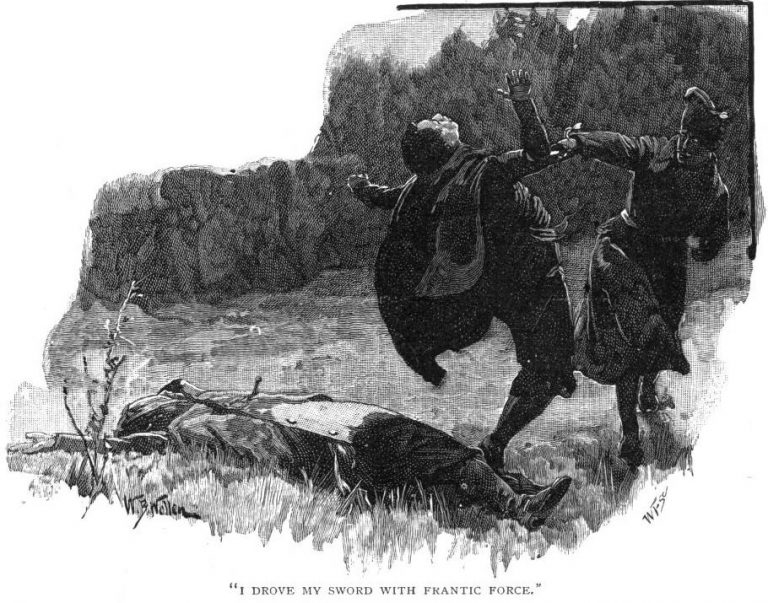 How The Brigadier Slew The Brothers Of Ajaccio I drove my sword through his midriff with such frantic force