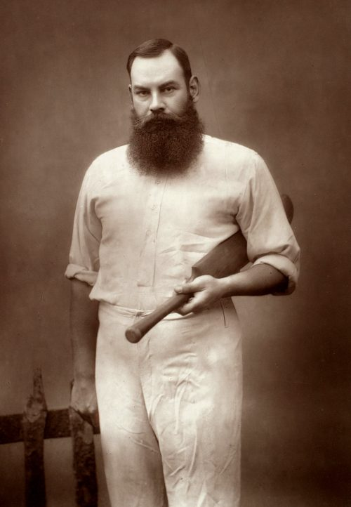 Portrait of the cricketer W. G. Grace