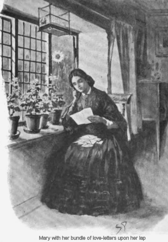 The Holocaust Of Manor Place Mary with her bundle of love-letters upon her lap
